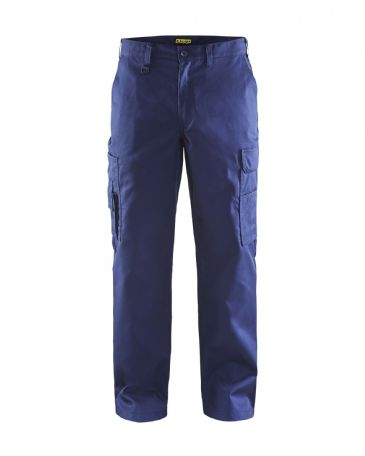 Blaklader 1400 Cargo Trousers 65% Polyester/35% Cotton (Navy Blue)